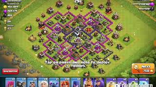 Playing Clash od Clans