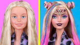 12 DIY Makeup Miniatures That Work / Clever Barbie Hacks And Crafts