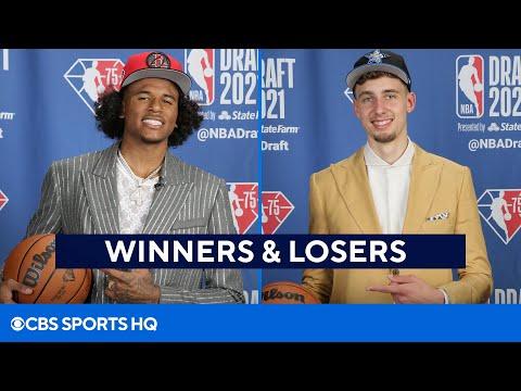 2021 NBA Draft: Winners and Losers | CBS Sports HQ