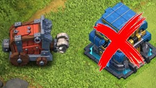 "WHAT IF THERE IS NO TOWN HALL!?! ""Clash Of Clans"" SIEGE MACHINE LVL 3"