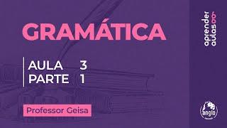 GRAM�TICA - AULA 3 - PARTE 1 - FORMA��O DE PALAVRAS: DERIVA��O E COMPOSI��O