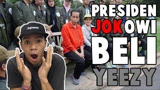 REACTION PRESIDEN JOKOWI BELI YEEZY + BAHAS PIDATO JOKOWI | #HuntingFake
