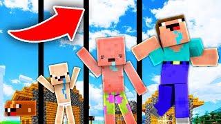 NẾU NOOB CÓ CUỘC SỐNG TRONG MINECRAFT !!!! (Minecraft Người Trông Trẻ)