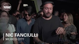 Nic Fanciulli classy Tech-laced Mix | Boiler Room Mexico City