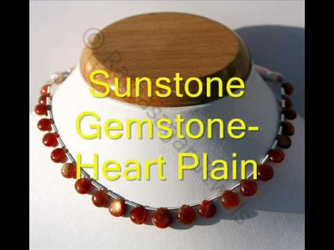 Sunstone Gemstone Beads