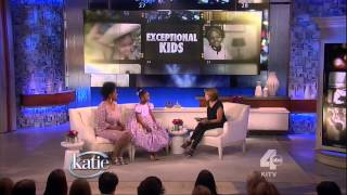 Mabou LOISEAU on Katie COURIC 8-year-old polygot speaks 8 languages & plays 8 musical instruments