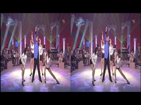 Jimmy test Broadcast Satellite hi vision FULL HD 3D side by side mode