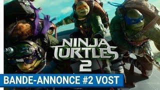 Ninja turtles 2 :  bande-annonce 2 VOST