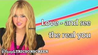 Hannah Montana - Need a Little Love ft. Sheryl Crow (Lyrics Video) HD