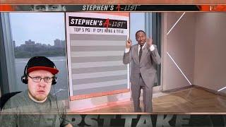 Reacting To Stephen A. Smith Top 5 Point Guards Of All Time