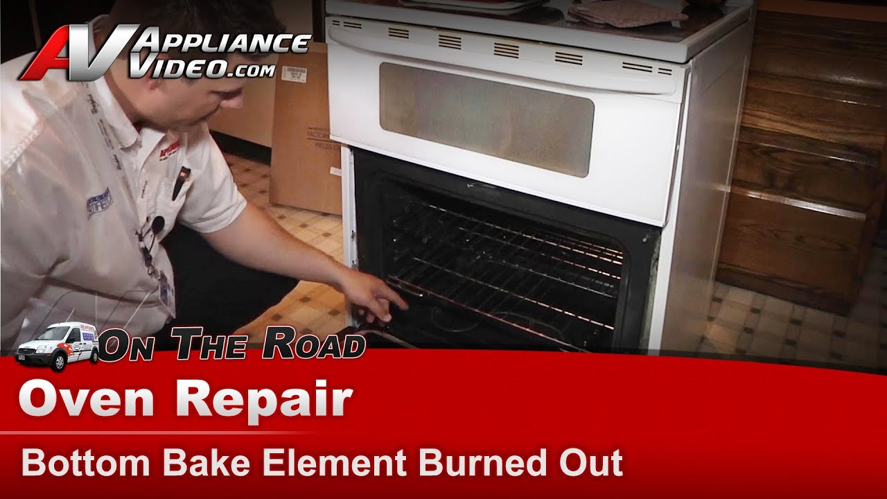Maytag Whirlpool Oven Repair Bottom Bake Element