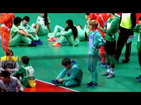 130128 아이돌 스타 육상&양궁 선수권 대회 Suho&Luhan