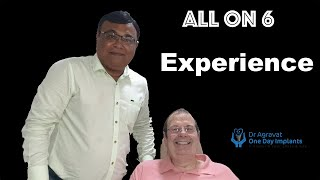 All on 6 dental implants procedure reviews of Dr Agravat One Day Dental Implant clinic Ahmedabad, In