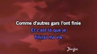 Karaoké Le pénitencier - Johnny Hallyday *