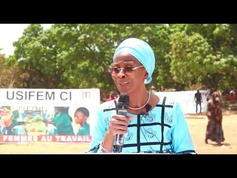 PROJET USIFEM-CI : Discours du Prof. Bakayoko-Ly Ramata