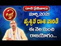 Vruschika  Rasi Phalalu March - 2021 Astrology Explained || Astrologer Koteswara Sarma || TSW