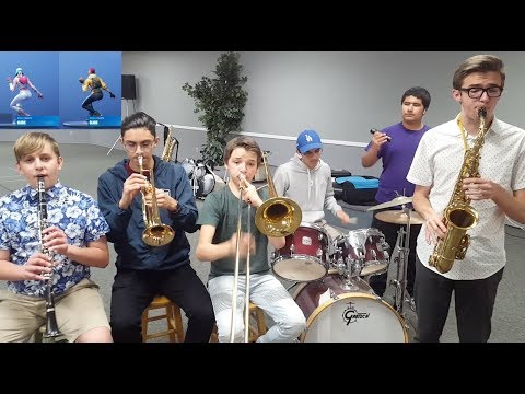 Fortnite Dances Played by Band Kids-Part 4