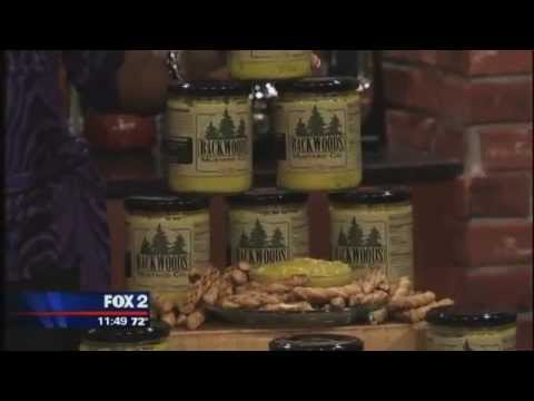 Michigan-based Backwoods Mustard Company and 51 North Brewery on Detroit's Fox 2 Cooking School