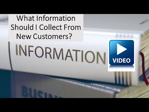 How to Collect Good Information from Customers