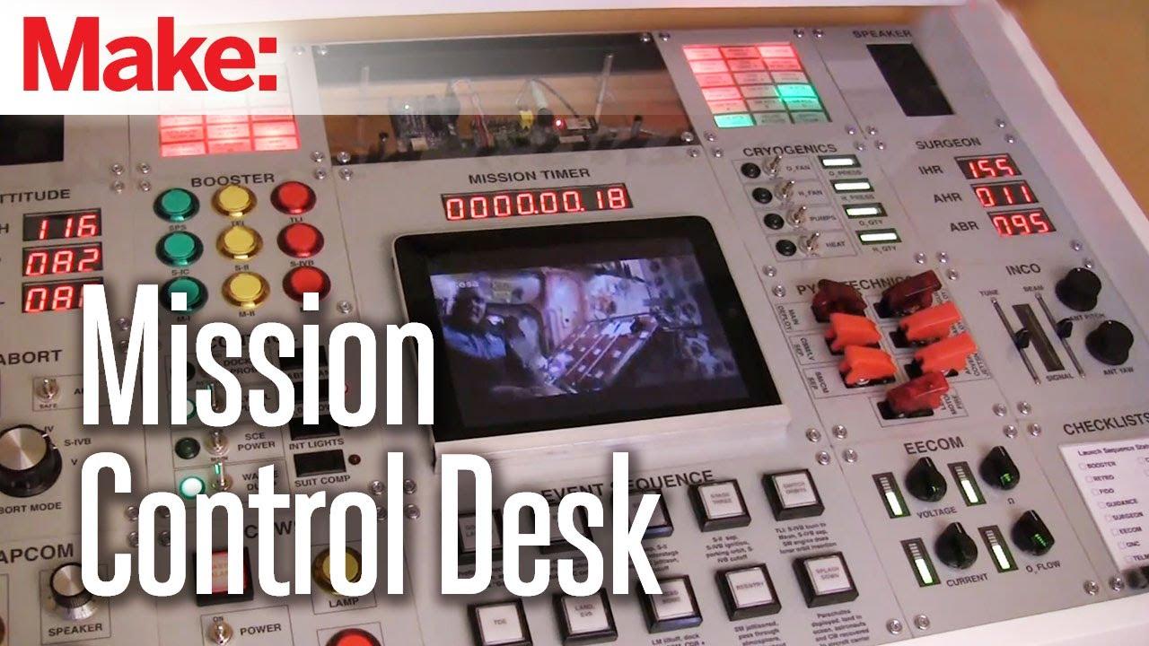 Making Fun Mission Control Desk Youtube