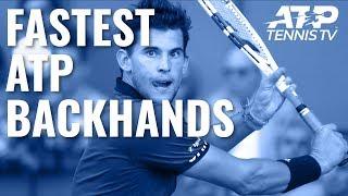 Fastest EVER ATP Backhands ⚡️