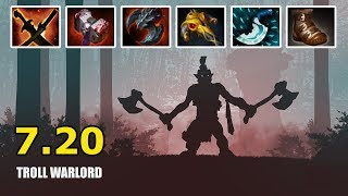 Troll Warlord Epic Attack Speed Massive Slaughter 7.20   OSFrog Dota 2 Highlights