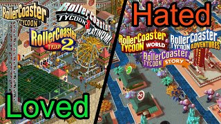 LOVED❤️ To 🔥HATED -🎢The History Of RollerCoaster Tycoon