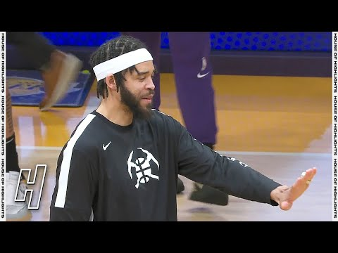 JaVale McGee Receives His Championship Ring From Los Angeles Lakers
