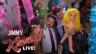 "Jimmy and Guillermo Play ""Piñatas and Tequila"""
