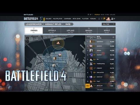 Battlefield 4 : vidéo officielle des fonctionnalités du Battlelog - YouTube