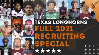 Full Breakdown: 2021 Texas Longhorns Football Recruiting Special