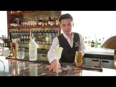 Best Bartender cocktail from Above & Beyond at Hotel Icon by Dino Chen