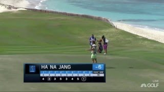 Ha Na Jang Makes History with Albatross by Making Hole-in-One on Par-4