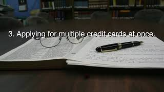 5 Things You Didn't Know Lower Your Credit Score