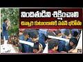 నిందితుడిని శిక్షించాలి... చిన్నారి కుటుంబానికి పవన్ భరోసా | Pawan Kalyan Visits Singareni Colony