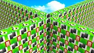1v1v1v1 UNSPEAKABLE LUCKY BLOCK WALLS BATTLE!
