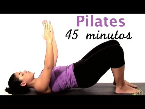 Clase completa de Pilates (nivel intermedio)