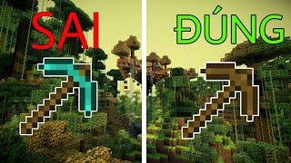 Top 5 Điều Mà 99% Mọi Người Làm SAI Trong Minecraft !!!
