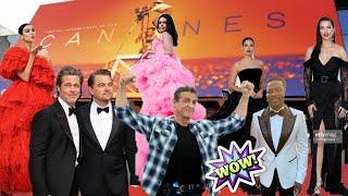 Cannes 2019 |Amfar Gala| Sylvester Stallone, Leonardo DiCaprio,Adriana Lima,Kendall Jenner, Dua Lipa
