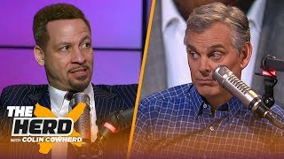 Chris Broussard reacts to Magic's remarks about Pelinka & Lakers, talks KD's future   NBA   THE HERD