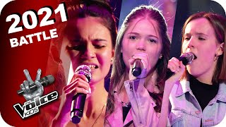 Christina Aguilera - Beautiful (Kirstin/Marie/Katharina) | The Voice Kids 2021 | Battles