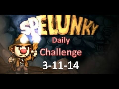 Spelunky Daily Challenge - 3-11-14 vs. Phedran and Pakratt thumbnail