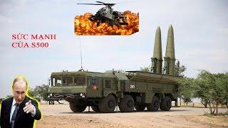 Tin mới - Uy lực khủng khiếp của tên lửa S500 của Nga