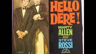 Marty Allen / Steve Rossi - The Punch Drunk Fighter (1962)