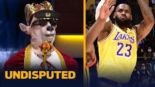 """""""Long live the King"""" — LeBron sinks game-winning shot over Curry's Warriors 