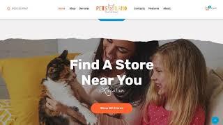 Pets Land | Pet Shop and Veterinary WordPress Theme