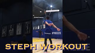 bts[9:16] Steph Curry workout at Chase Center; Curry7 leak? Just hours after charity golf tournament