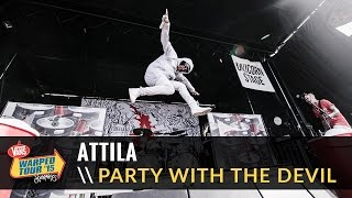 Attila - Party With The Devil (Live 2015 Vans Warped Tour)