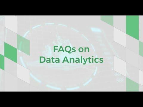 FAQs on Data Analytics