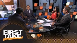 First Take reacts to Tony Romo calling Packers 'team to beat' this NFL season | First Take | ESPN